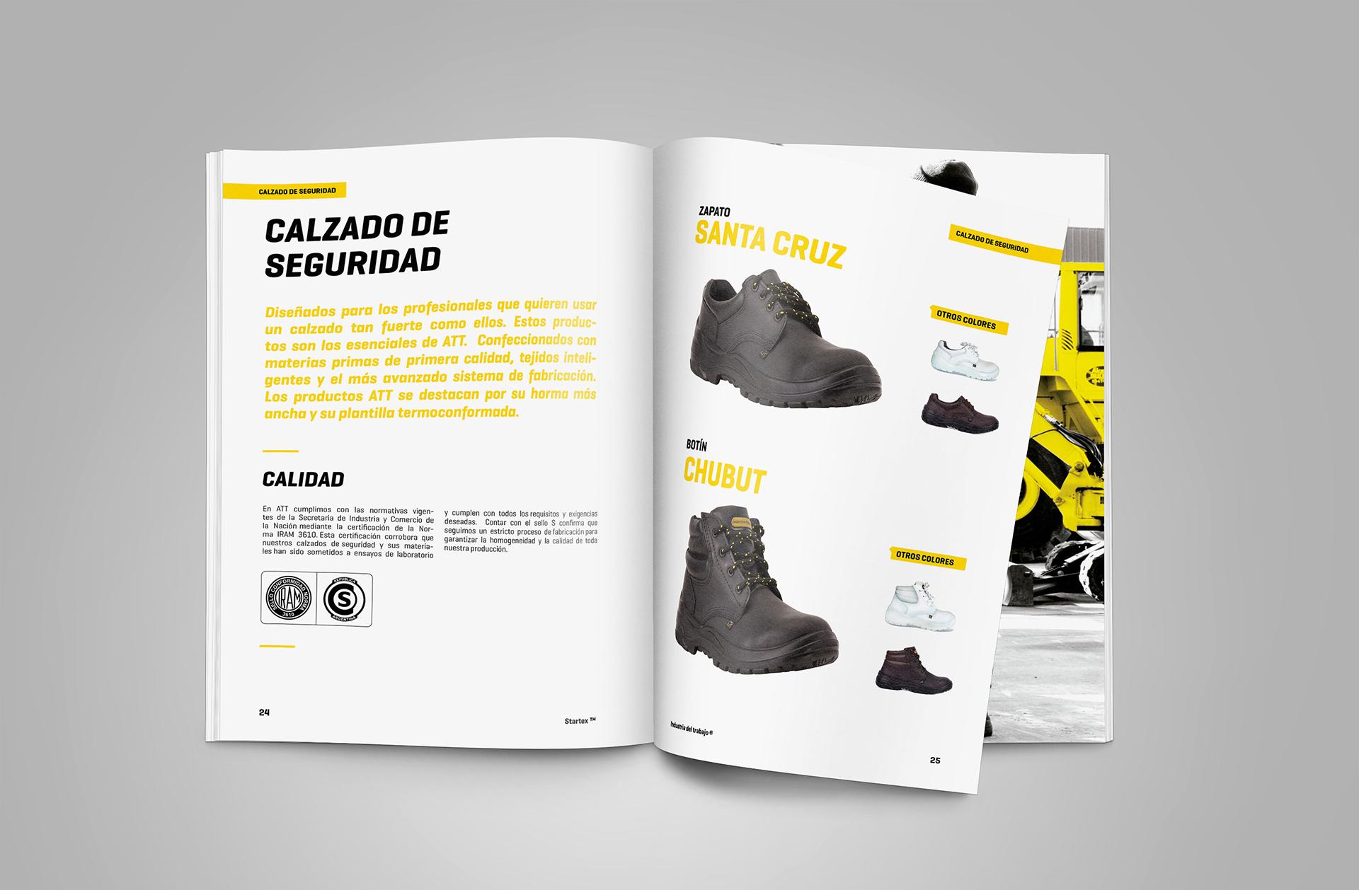 Diseño editorial catálogo de productos